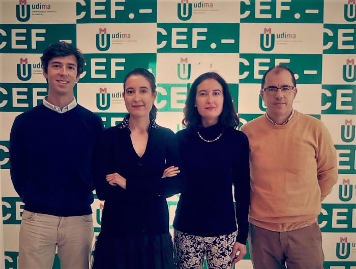 Dr. Lucas Montojo, Dra. María Lara, Dra. Laura Lara y Dr. Frncisco Cardells-Martí