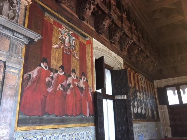 Bras al Saló de Corts de la Generalitat Valenciana