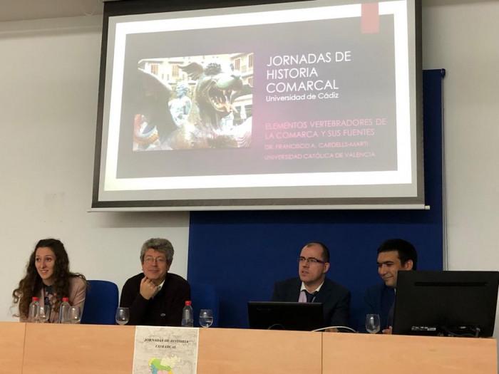 Eloísa Toscano, Julio Pérez, Francisco Cardells y Francisco Conde