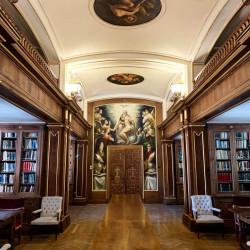 Biblioteca de la Hospedería del Valle de los Caídos