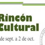 Actividades culturales para el fin de semana del 30 de septiembre al 2 de octubre de 2016