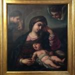 Cuadro meditación de la Virgen