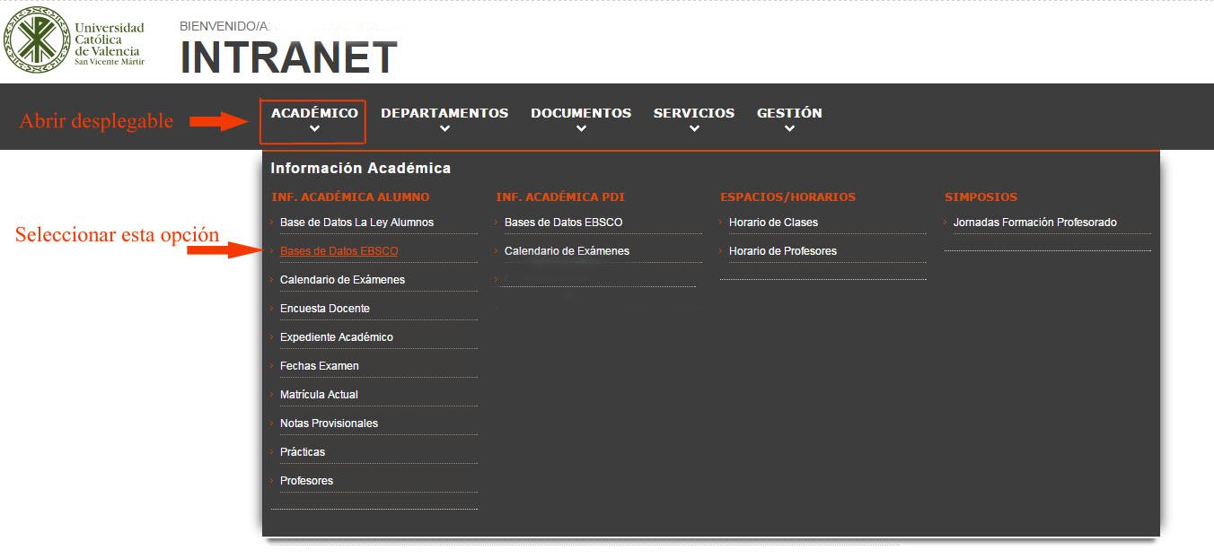 Intranet Académico