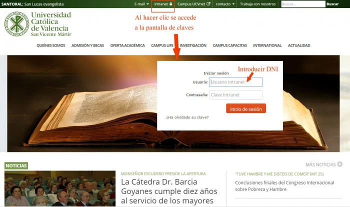 Intranet Web UCV