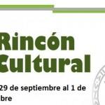 Actividades culturales para el fin de semana del 29 de septiembre al 1 de octubre de 2017