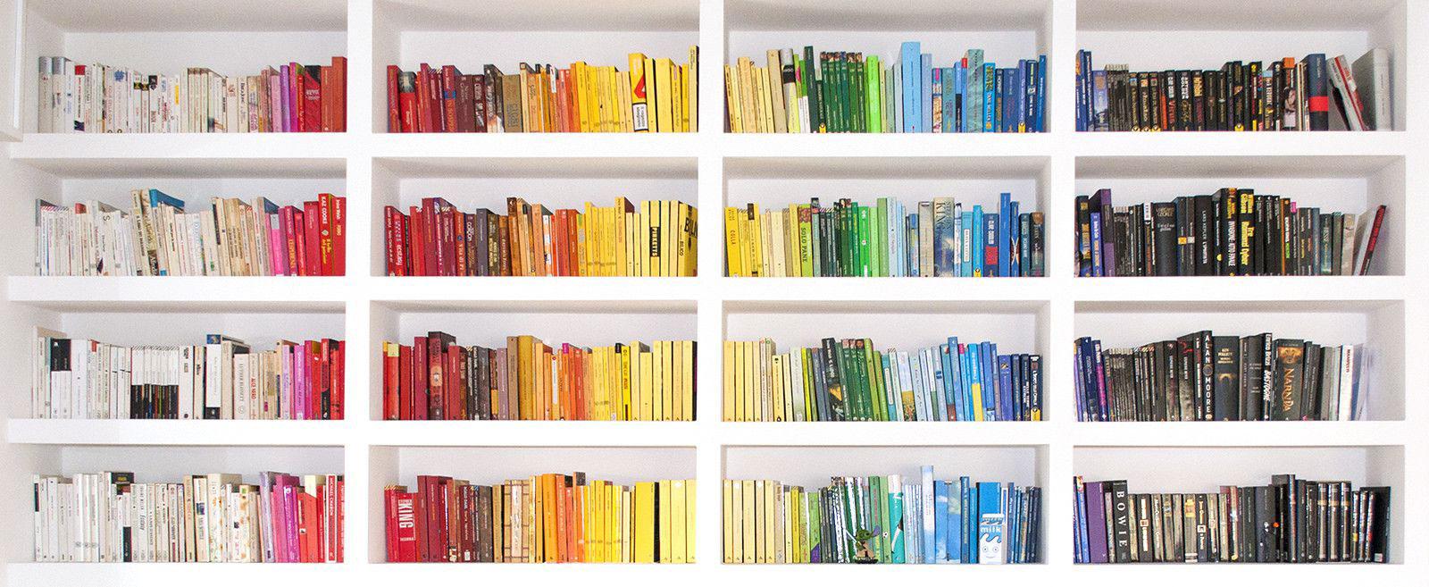 Biblioteca por colores