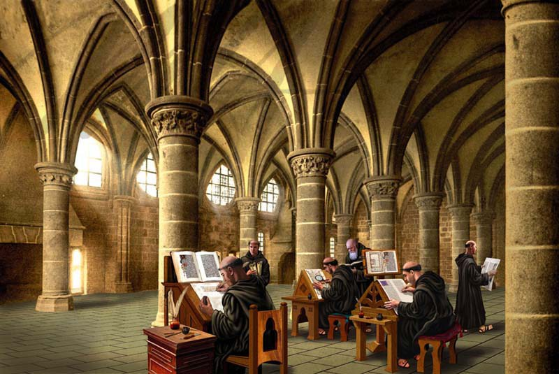Bibliotecas medievales