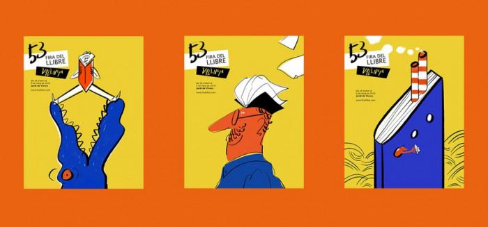 Cartel 53 Fira del Llibre - Propuestas