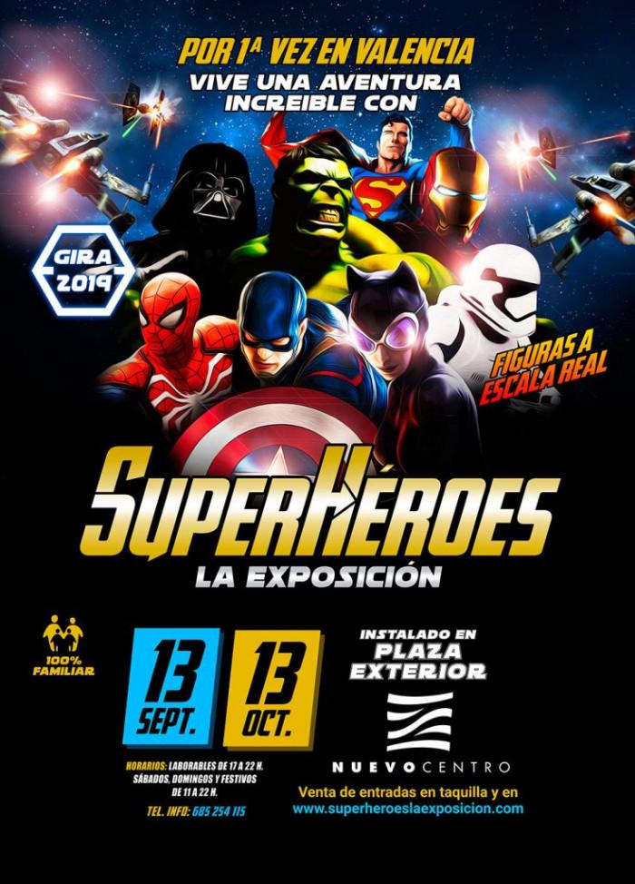 Superhéroes exposición