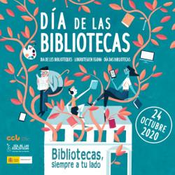 Cartel día de las bibliotecas