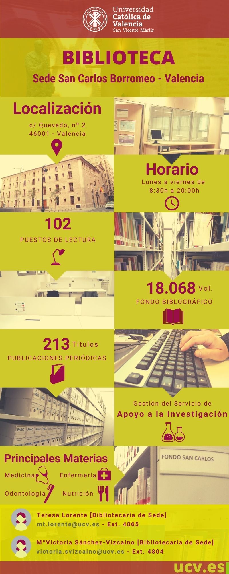 Infografía Sede San Carlos