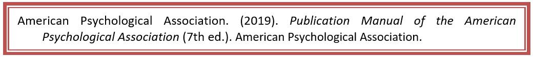 Ejemplo Referencia Libro APA 7 entidad