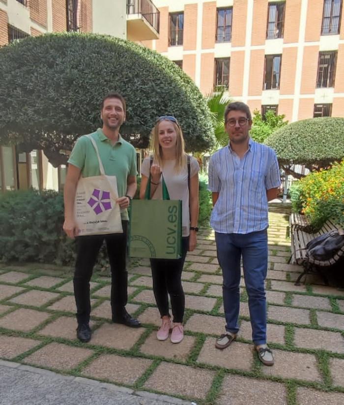 Santa Úrsula - Visita Erasmus PAS
