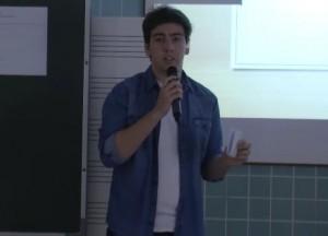 los alumnos y sus presentaciones