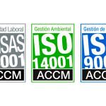La UCV revalida sus sellos de Calidad, Medio Ambiente y Seguridad y Salud en el Trabajo.