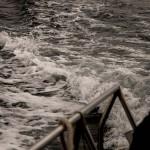 Primera salida al mar de los alumnos de primero de Ciencias del Mar