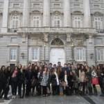Visita al Senado de los alumnos de 1ºA