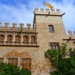Visita al Consulado de la Lonja de Valencia