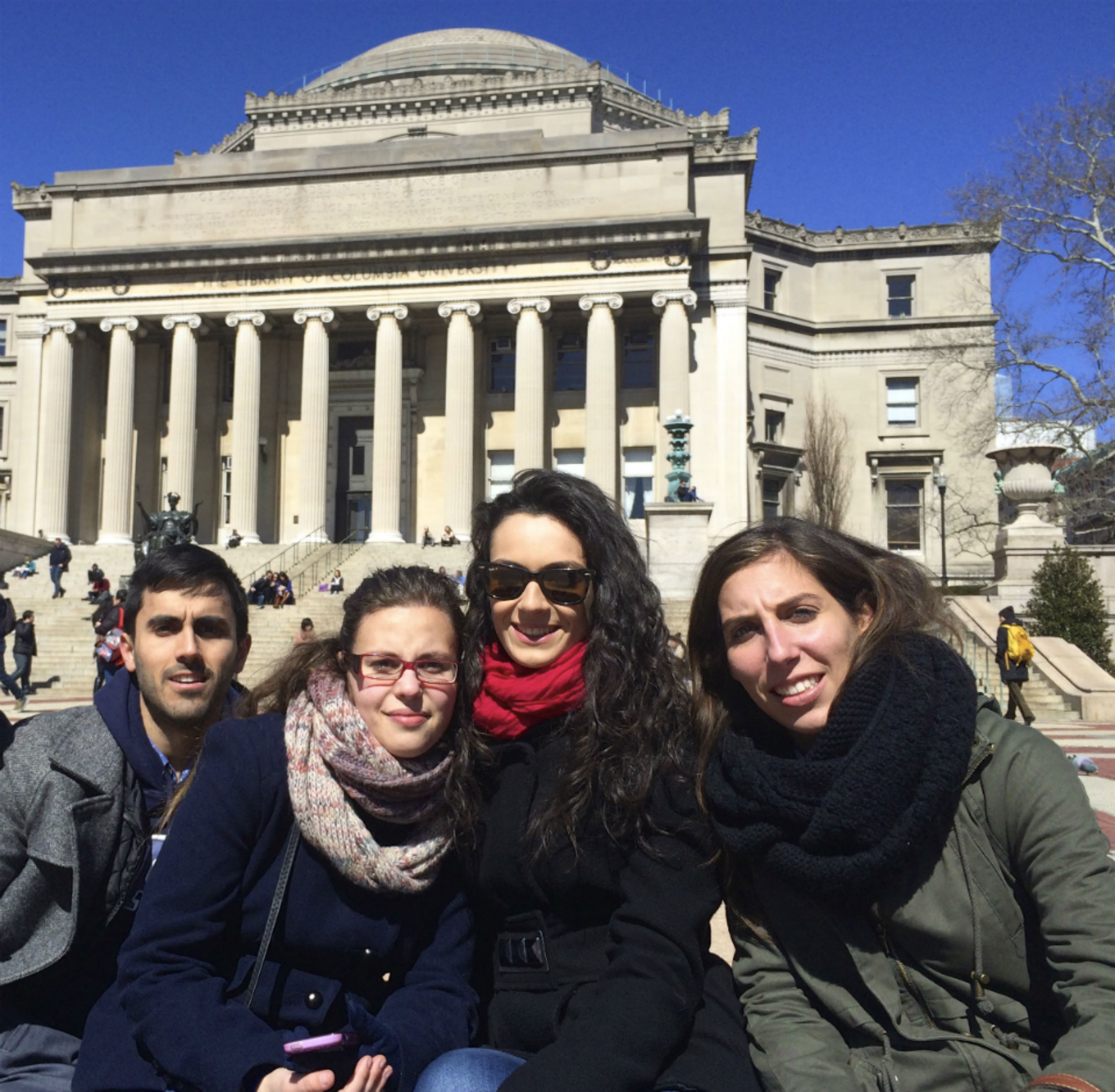 Estudiantes UCV en NY