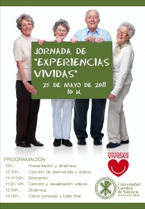 CARTEL JORNADAS EXPERTOS EN LA VIDA 2010-2011