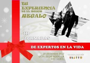 CARTEL JORNADAS EXPERTOS EN LA VIDA 2012