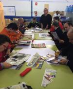 Andrea Laudes y los participantes en el proyecto