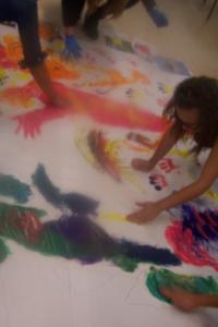 Alumnos de Técnicas de animación, expresión y creatividad. Grado de Educación social curso 2013-14. Universidad Católica de Valencia San Vicente Mártir.
