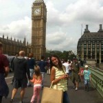 Sandra en Londres