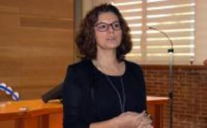 Joana Calero, Vicedecana Educación Social en la Jornada de Expertos en la vida