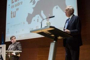José Manuel García-Margallo, ministro de asuntos exteriores, en la pasada edición del foro (XXII Foro Universitario Juan Luis Vives)