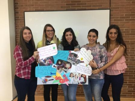 Trabjo social - Grupo 4: Amparo Sebastià, Andrea Lluna, Victoria Navarro, Aránzazu Valero e Iris Manchado