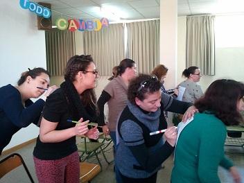 Prácticas.Taller de Madres en Colegio Jesús y Maria