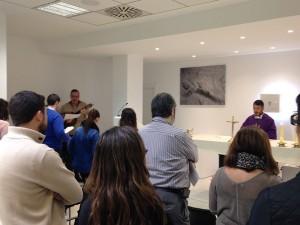 Miércoles de Ceniza en la Universidad Católica de Valencia