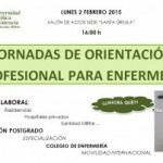 Jornada de orientación profesional para Enfermería
