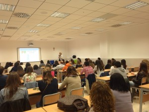 alumnos de la UCV en la II International Comenius week