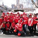 La Facultad de Enfermería colabora en las mascletaes de Valencia