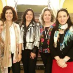 Visita de profesoras de la Escola de Enfermagem de la UCP
