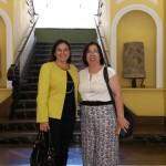 Visita de la Dra. Dª María Luisa V.A. Santos, profesora de la Escola Superior de Enfermagem S. José de Cluny en Funchal- Madeira.