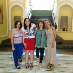Visita de profesoras del Instituto Politécnico de La Guarda