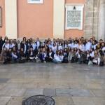 Jornada de Envío de los alumnos de la Facultad de Enfermería de la Universidad Católica de Valencia