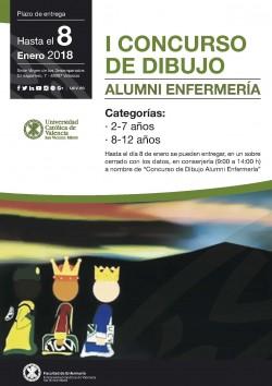 UCV CONCURSO DIBUJO ENFERMERIA CARTEL A4.