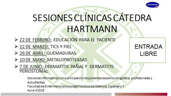 Sesiones Cátedra Hartman 2018