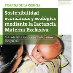 Lactancia materna y sostenibilidad: Semana de la Ciencia