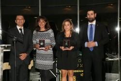 Miryam García Escudero y Nieves De Bernardo Tejedor, galardonadas por el Colegio Oficial de Fisioterapeutas