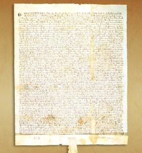Inglaterra en 1215