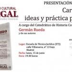 Presentación del libro «Carlismo, ideas y práctica política»
