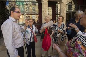 III CUHC. Congreso de Historia Comarcal. Visita exposición Santo Cáliz. Catedral de valencia y museo Almudín.
