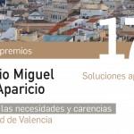 La Fundación Institución Cultural DOMUS convoca la 17ª EDICIÓN de los   PREMIOS SANDALIO MIGUEL – MARÍA APARICIO, dotados con 9.000 euros, para el  Estudio de las carencias y necesidades de la ciudad de Valencia. Soluciones aplicables