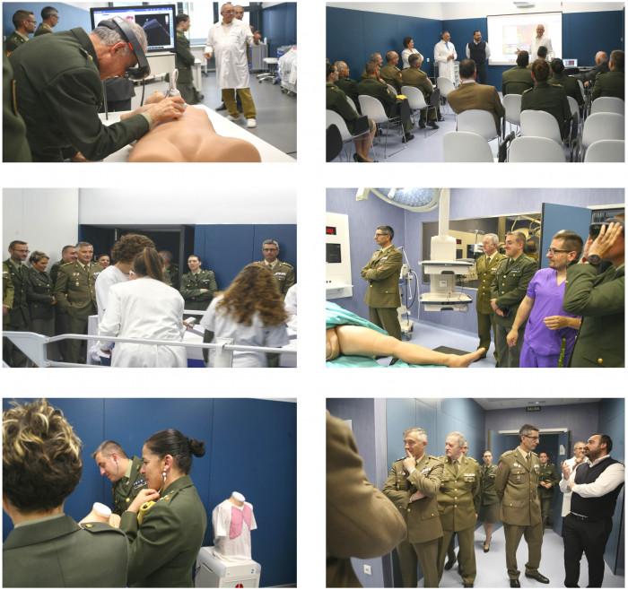 Resumen visita Fuerzas Armadas