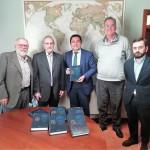 Entrega de la Opera Omnia de Calasanz a la Universidad Católica de Valencia